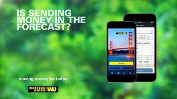Western Union App TV Spot, 'Forecast' - Thumbnail 1