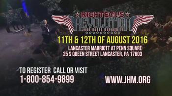 John Hagee Ministries TV Spot, 'Righteous Revolution: Pennsylvania' - Thumbnail 8