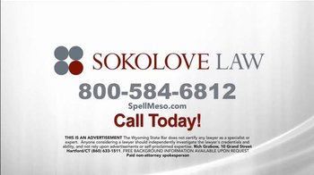 Sokolove Law TV Spot, 'Can't Pronounce It' - Thumbnail 9