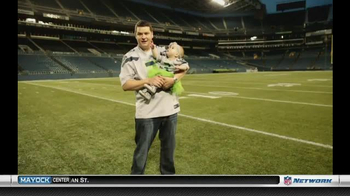NFL Newborn Fan Club TV Spot, 'Seahawks' Lucky Onesie' - Thumbnail 1