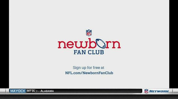NFL Newborn Fan Club TV Spot, 'Seahawks' Lucky Onesie' - Thumbnail 10