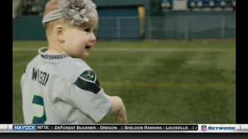 NFL Newborn Fan Club TV Spot, 'Seahawks' Lucky Onesie' - Thumbnail 2