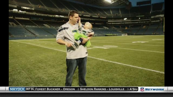 NFL Newborn Fan Club TV Spot, 'Seahawks' Lucky Onesie' - Thumbnail 3