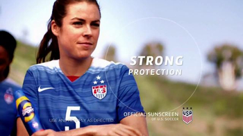 Coppertone Sport TV Spot, 'Soccer Game' Featuring Kelley O'Hara - 5359 commercial airings