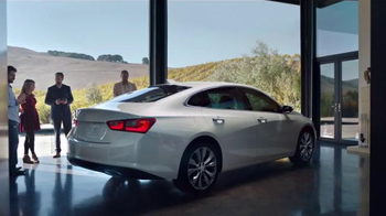 2016 Chevrolet Malibu TV Spot, 'One Word: Swanky' - 3 commercial airings