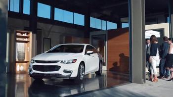 2016 Chevrolet Malibu TV Spot, 'One Word: Swanky' - Thumbnail 4