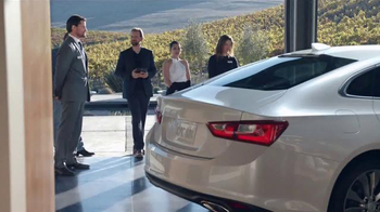 2016 Chevrolet Malibu TV Spot, 'One Word: Swanky' - Thumbnail 5
