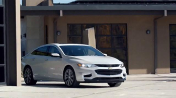 2016 Chevrolet Malibu TV Spot, 'One Word: Swanky' - Thumbnail 6