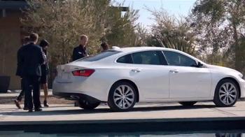2016 Chevrolet Malibu TV Spot, 'One Word: Swanky' - Thumbnail 7