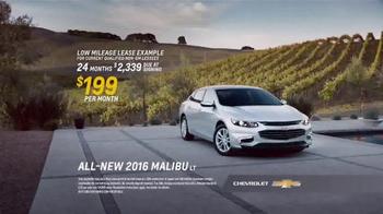2016 Chevrolet Malibu TV Spot, 'One Word: Swanky' - Thumbnail 8