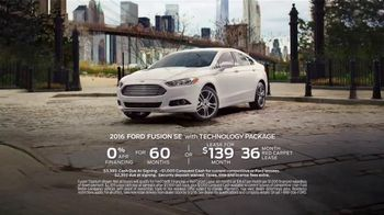 2016 Ford Fusion TV Spot, 'Walk in the Park' Song by X Ambassadors - Thumbnail 9