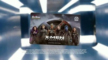 Red Robin TV Spot, 'X-Men: Apocalypse: Gift Card' - 49 commercial airings