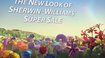 The New Look of Sherwin-Williams Super Sale TV Spot, 'Paints and Stains' - Thumbnail 2