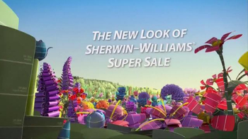 The New Look of Sherwin-Williams Super Sale TV Spot, 'Paints and Stains' - Thumbnail 3