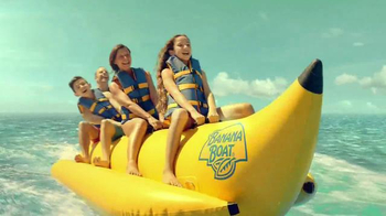 Banana Boat TV Spot, 'Stays on in Seven Conditions'