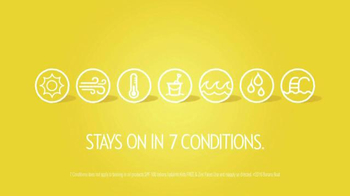 Banana Boat TV Spot, 'Stays on in Seven Conditions' - Thumbnail 6