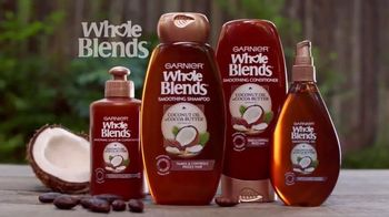Garnier Whole Blends TV Spot, 'A Smooth Way to Care for Frizz-Prone Hair' - Thumbnail 6