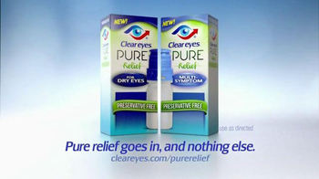 Clear Eyes Pure Relief TV Spot, 'Purifying Filter' - Thumbnail 4