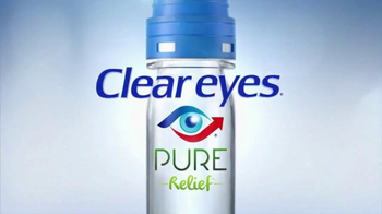 Clear Eyes Pure Relief TV Spot, \'Purifying Filter\'