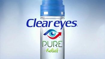 Clear Eyes Pure Relief TV Spot, 'Purifying Filter'