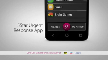 GreatCall Jitterbug Smart TV Spot, 'One Touch' - Thumbnail 6