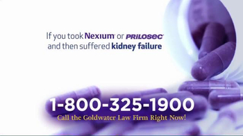 Goldwater Law Firm TV Spot, 'Have You Taken Nexium or Prilosec?' - Thumbnail 2