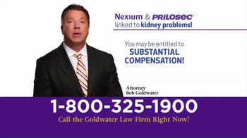 Goldwater Law Firm TV Spot, 'Have You Taken Nexium or Prilosec?' - Thumbnail 3