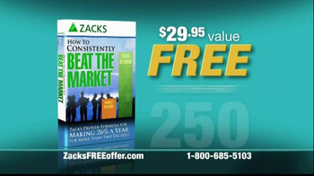 Zacks Investment Research TV Spot, 'The Zacks Rank Stock Rating System' - Thumbnail 2