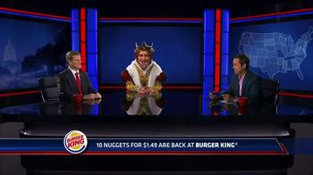 Burger King Chicken Nuggets TV Spot, 'Senator' - Thumbnail 1