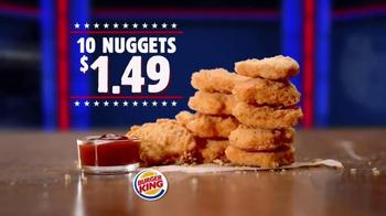Burger King Chicken Nuggets TV Spot, 'Senator' - Thumbnail 8