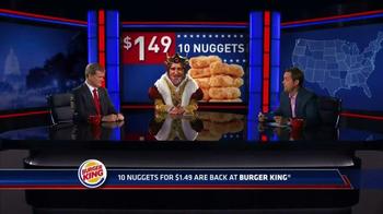 Burger King Chicken Nuggets TV Spot, 'Senator' - Thumbnail 2