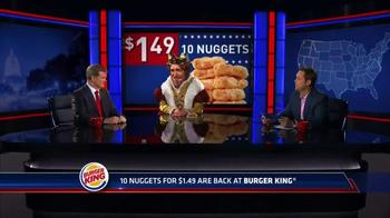 Burger King Chicken Nuggets TV Spot, 'Senator' - Thumbnail 3