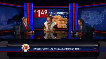 Burger King Chicken Nuggets TV Spot, 'Senator' - Thumbnail 4