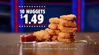 Burger King Chicken Nuggets TV Spot, 'Senator' - Thumbnail 7