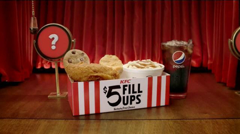KFC $5 Fill Ups TV Spot, 'Real Meals' - 1844 commercial airings
