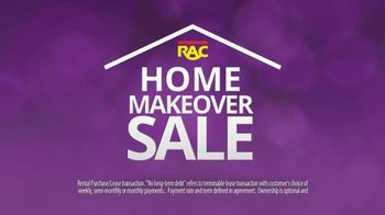 Rent-A-Center Home Makeover Sale TV Spot, 'Loveseat and Queen Bed'