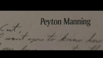 Gatorade TV Spot, 'Dear Peyton' Song by Bob Dylan - Thumbnail 2