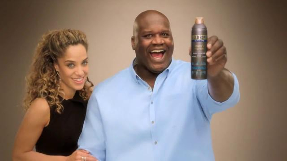 Gold Bond Ultimate Men's Body Powder TV Commercial, 'Behold' Ft. Shaquille O'Neal
