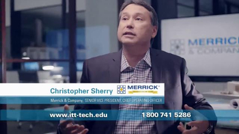 ITT Technical Institute TV Spot, 'Merrick & Company'