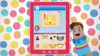 Disney Junior Magic Phone App TV Spot, 'Tap & Swipe: Sofia the First' - Thumbnail 8