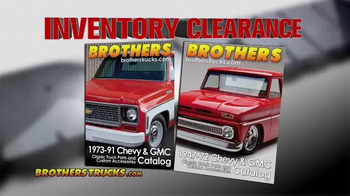Brothers Truck Inventory Clearance Sale TV Spot, 'Chevy & GMC Parts' - Thumbnail 3