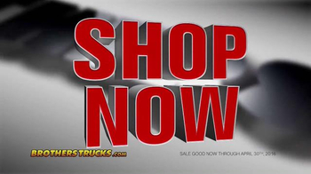 Brothers Truck Inventory Clearance Sale TV Spot, 'Chevy & GMC Parts' - Thumbnail 5