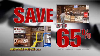 Brothers Truck Inventory Clearance Sale TV Spot, 'Chevy & GMC Parts' - Thumbnail 6