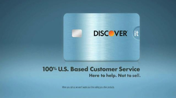Discover It Card TV Spot, 'U.S. Based Customer Service' - Thumbnail 9