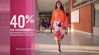 JCPenney Venta del Súper Sábado TV Spot, 'Ropa y joyería' [Spanish] - Thumbnail 3