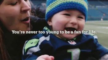 NFL Newborn Fan Club TV Spot, 'It Starts from Day 1' - Thumbnail 6