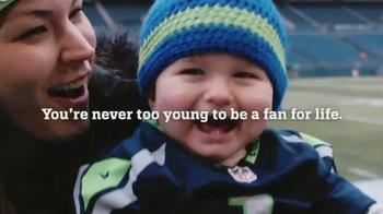 NFL Newborn Fan Club TV Spot, 'It Starts from Day 1' - Thumbnail 7