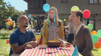 Tostitos Cantina Chipotle Thins TV Spot, 'Kid's Birthday'