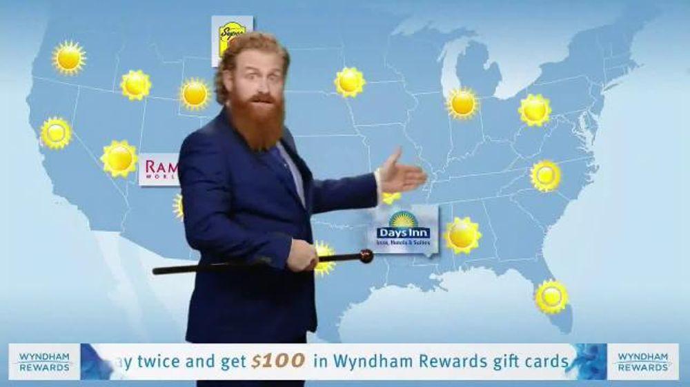 Wyndham Rewards TV Commercial, 'Forecast' Featuring Kristofer Hivju