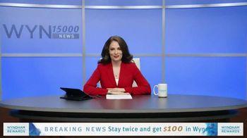 Wyndham Rewards TV Spot, 'Forecast' Featuring Kristofer Hivju - Thumbnail 1